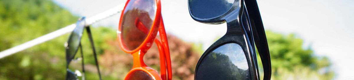 Verzameling zonnebrillen